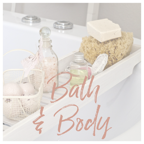 Soaps, Bath Bombs, Salts and Oils (not massage or service related)