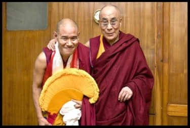 - Venerable Rinpoche Jangchup Choeden was appointed by HH Dalai Lama as Abbot of Ganden Shartse Monastery in May 2009.