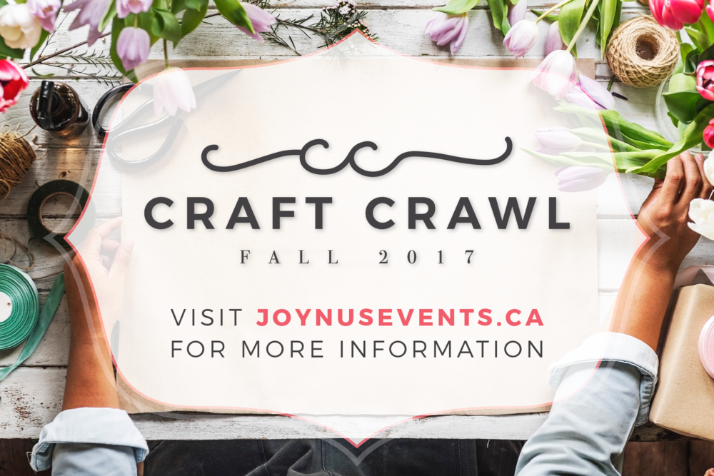 Craft Crawl – Branding - Simple event branding and promotional material design