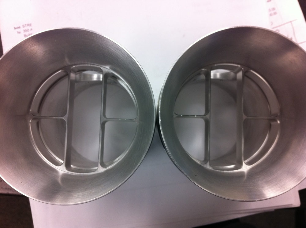 Pre-production  Aeros  MAF housings