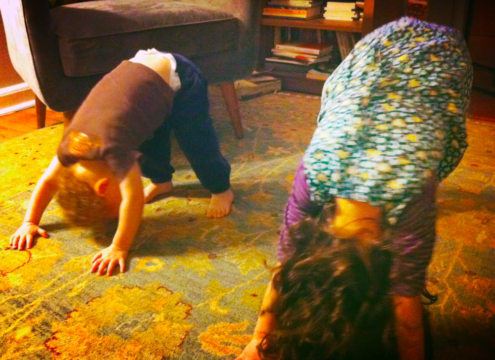 Careful: yoga moms sometimes make yoga babies!