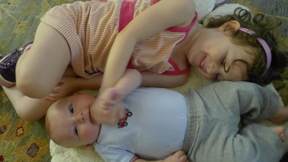 Happy babies!