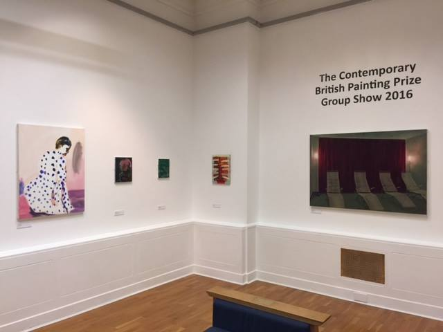 The Contemporary British Painting Prize 2016, Huddersfield Art Gallery
