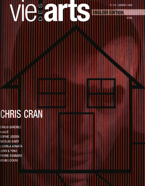 Chris Cran on cover of Vie Des Arts