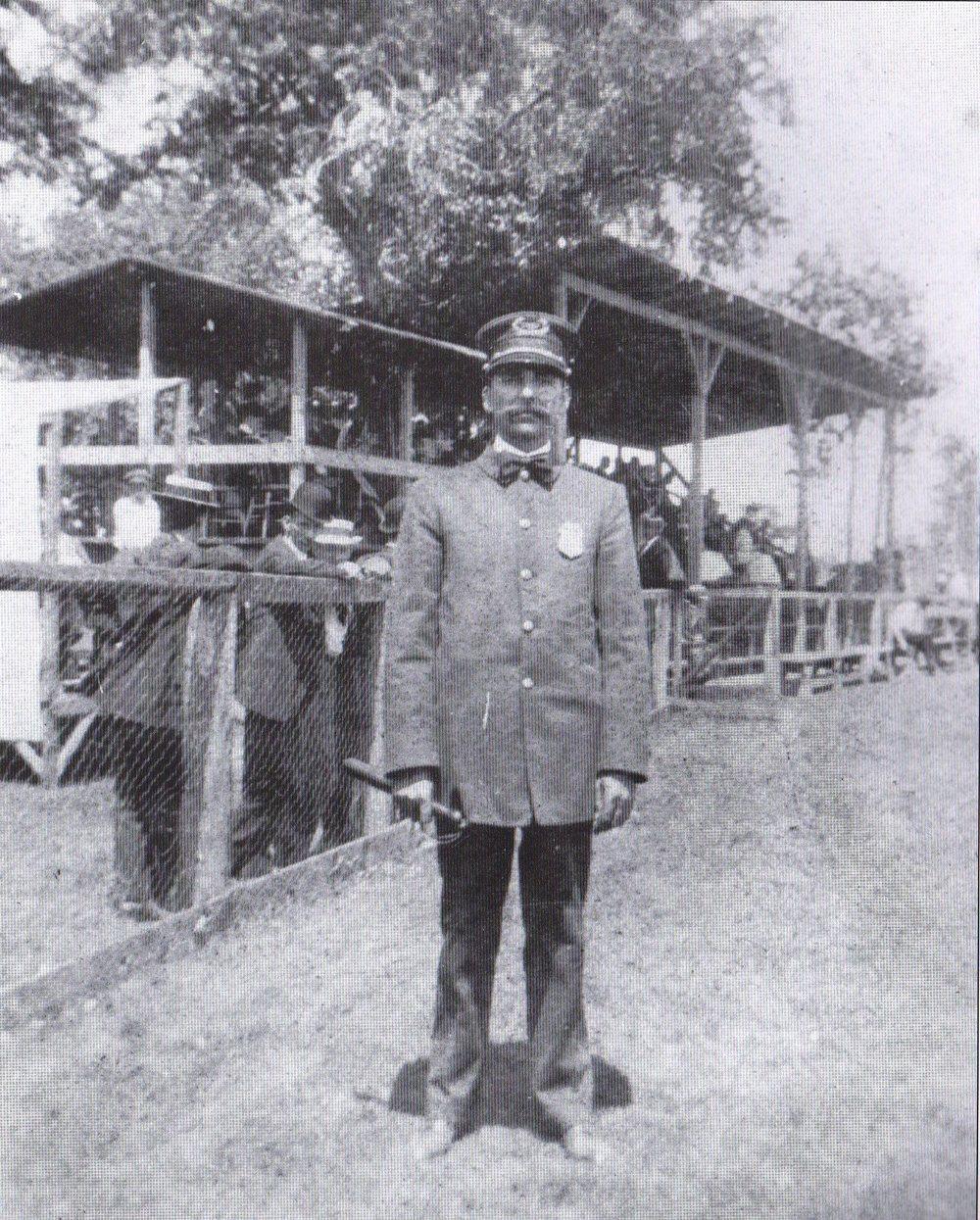 Chief Peak on N. Main St.- 1910