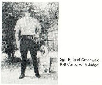 Sgt. Rowland Greenwald / K-9 Judge