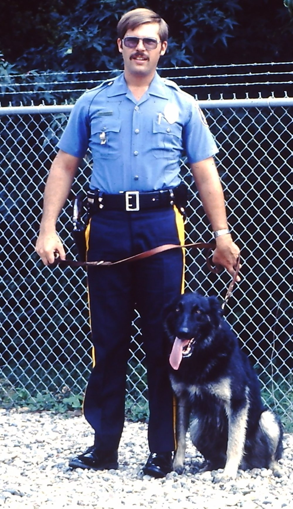 PO Dwight Yeager / K-9 Saint