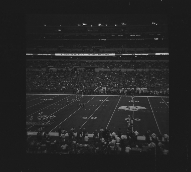 The first game of the season. September 7 against the Denver Broncos Diana F+ - Ultrafine Xtreme 400