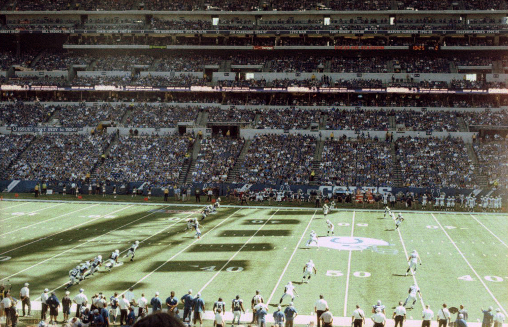 September 28 against the Tennessee Titans Olympus OM-G - Lomography XPRO 200