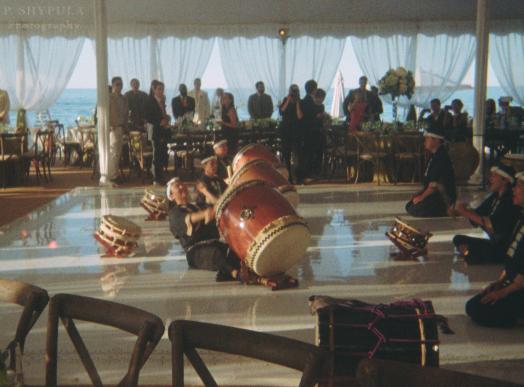 Wedding on Lake Michigan - July 4, 2014
