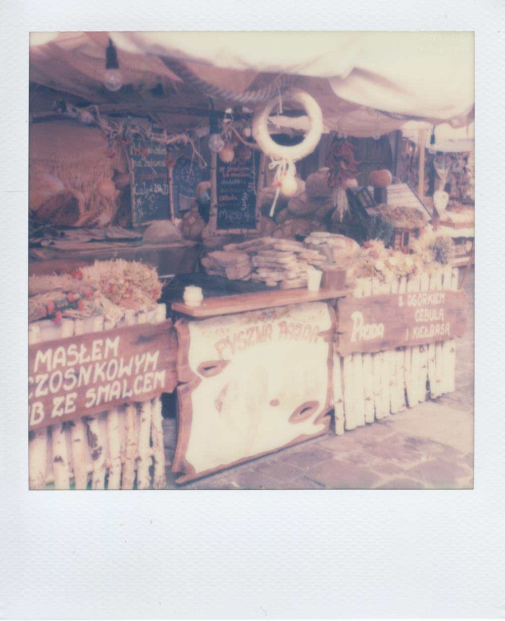 Street market in Krakow