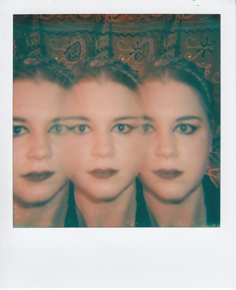 Polaroid Impulse  + Prism attachment +  Impossible Project