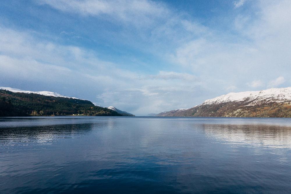 Loch Ness, Fort Augustus, Scotland ony a6000
