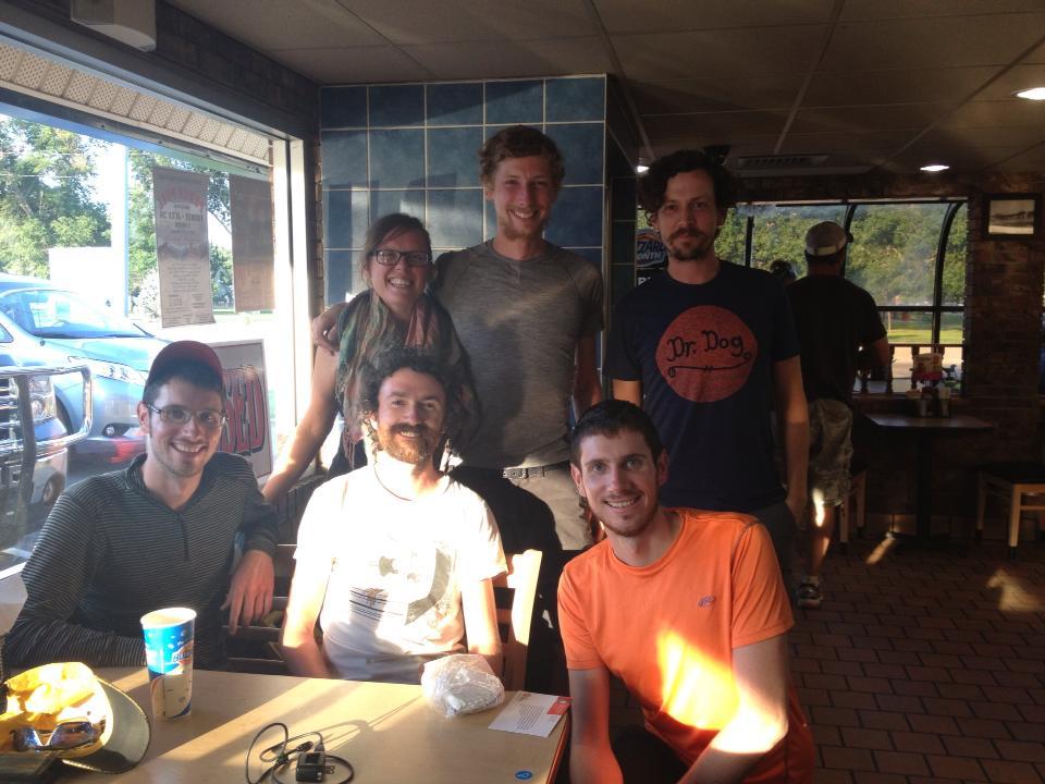 Cyclist crew I met in DQ in Scott City KS.