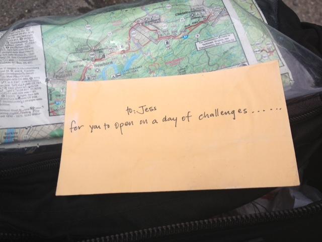 Rachel's letter.