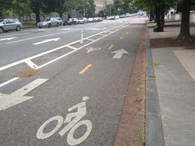 Bike lanes! DC