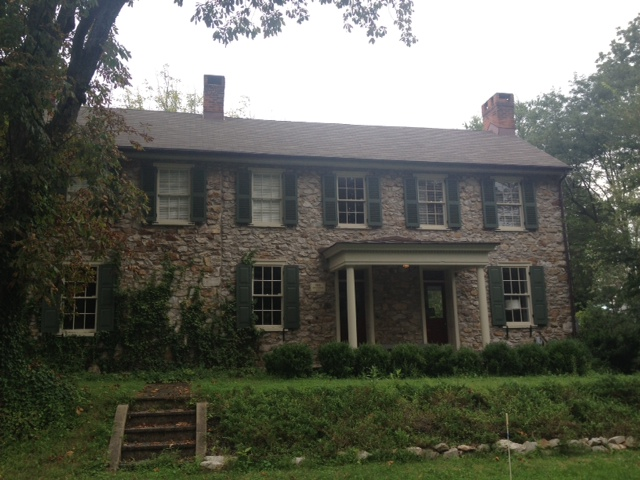 Love, love these old stone homes!