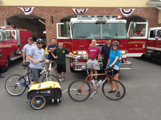 Charlestown Cross Mills Fire Station stop!