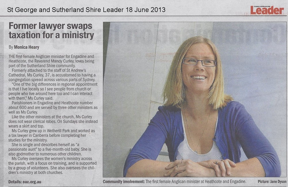 Leader June 2013 Mandy Curley.jpg