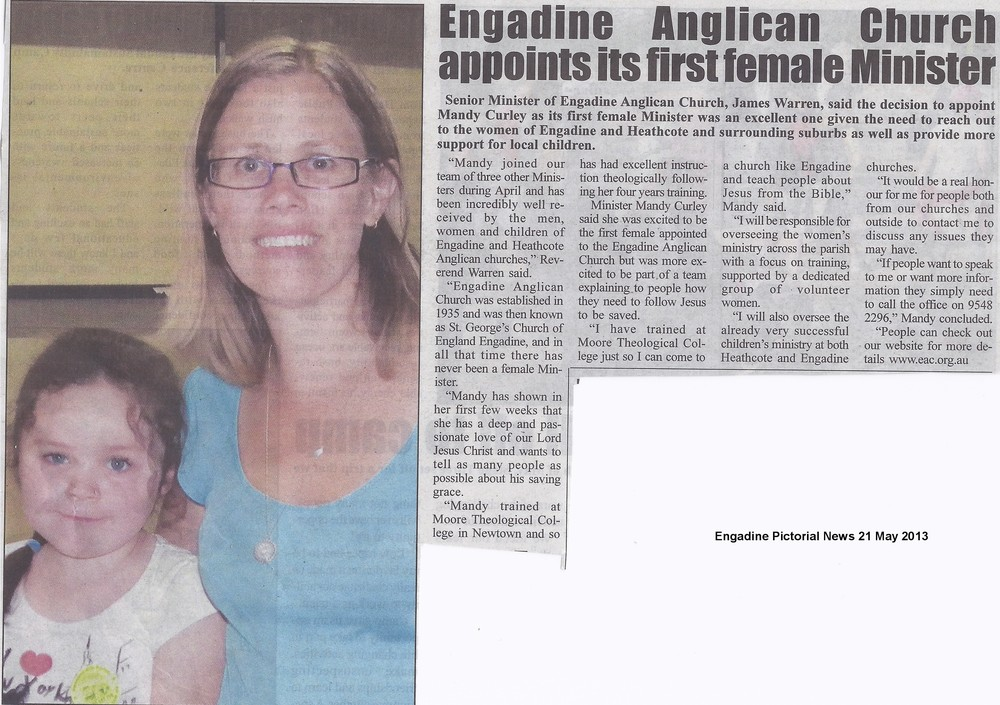 Engadine Pictorial News 21 May 2013 Mandy and Mia.jpg
