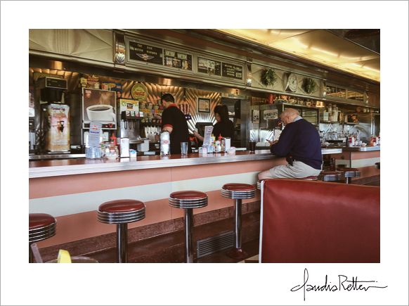 The Tin Goose Diner in Port Clinton, Ohio.
