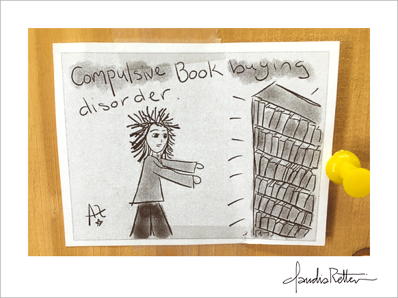 Compulsive book buying disorder