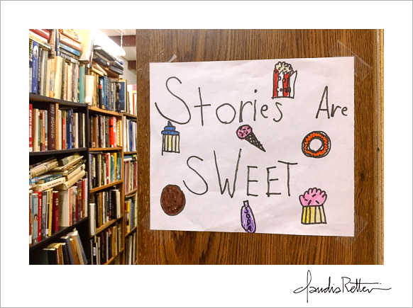 Stories are sweet.
