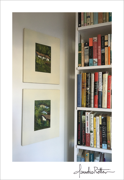 Paintings and books