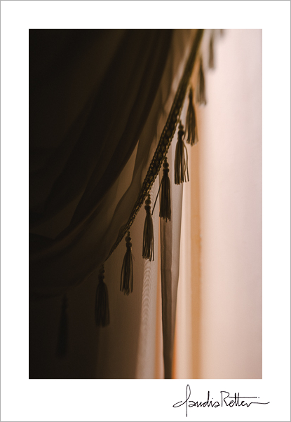 Curtains at the Osborne Inn
