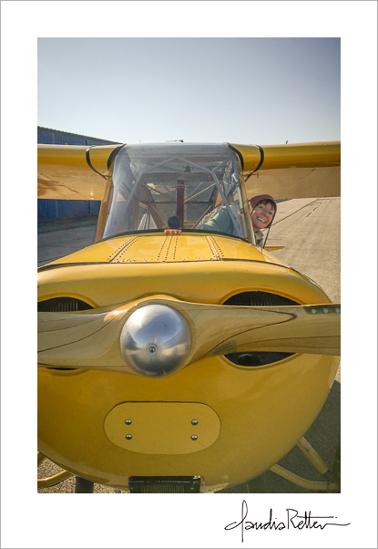 My yellow Aeronca Champ