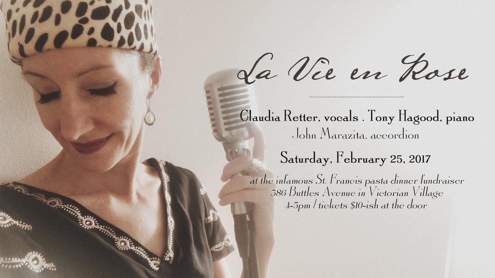 Columbus, OH jazz vocalist Claudia Retter