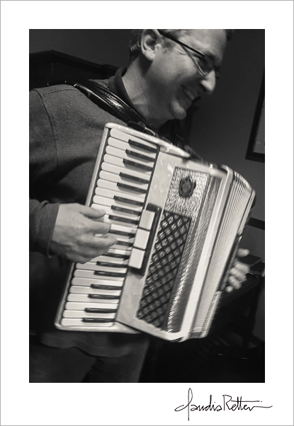 John Marazita, accordion