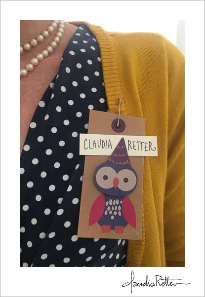 Owl nametag