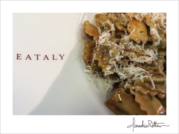 Pasta at Eataly