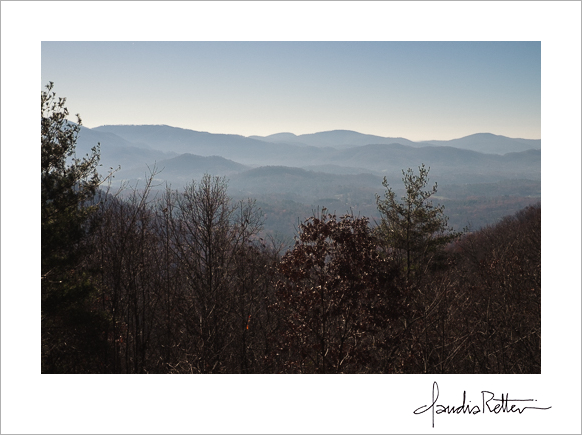 Fairview mountains, North Carolina