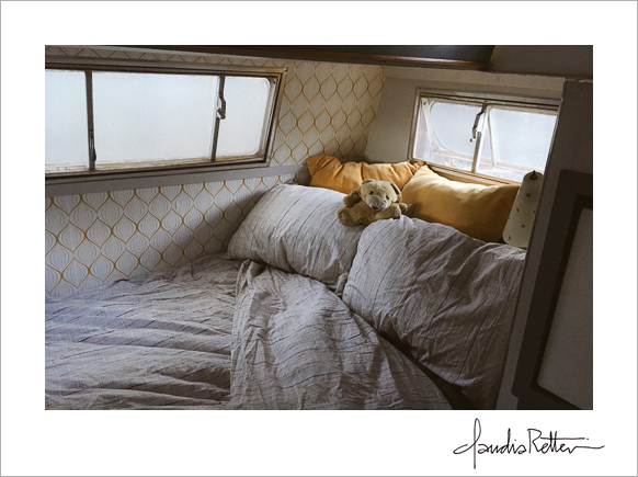Scotty Camper bedroom, Airbnb