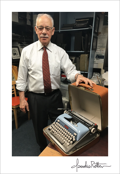 Paul Schweitzer of Gramercy Typewriter