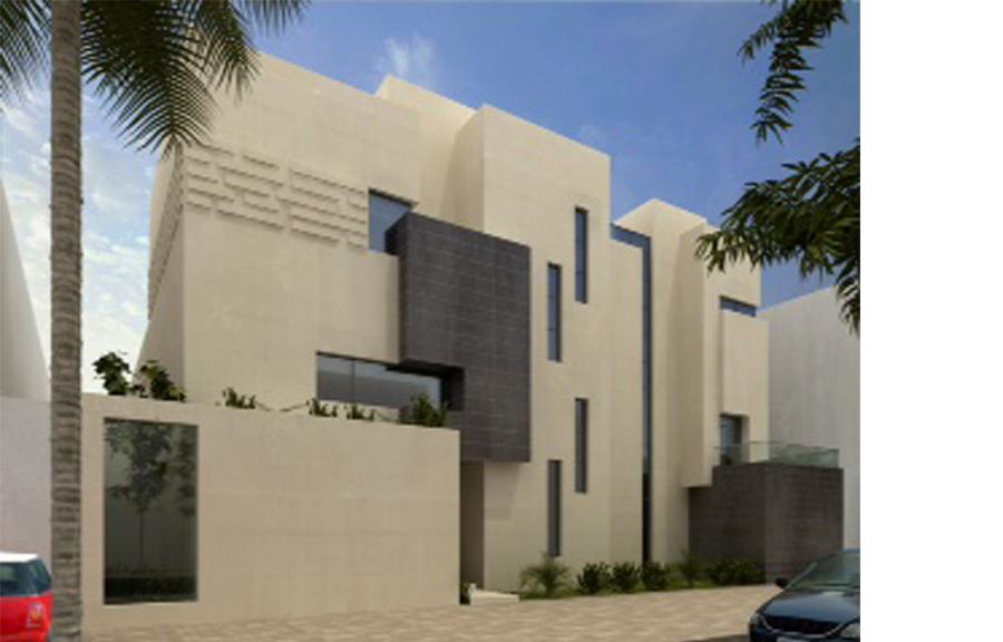 3 homes in kuwait miim designs llc for Modern house design kuwait