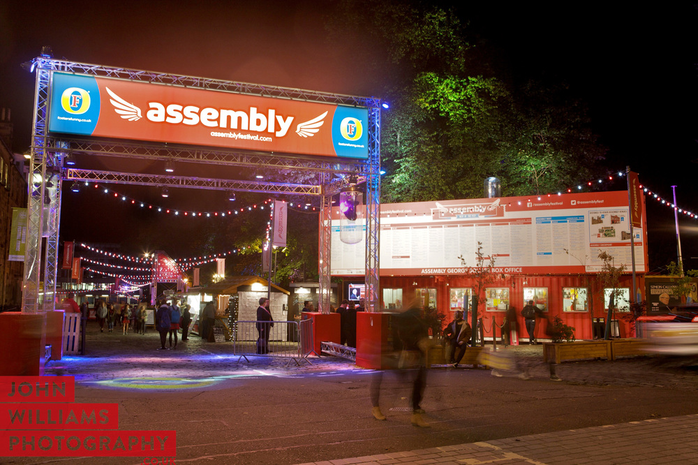 Assembly Festival Box Office, Edinburgh 2015