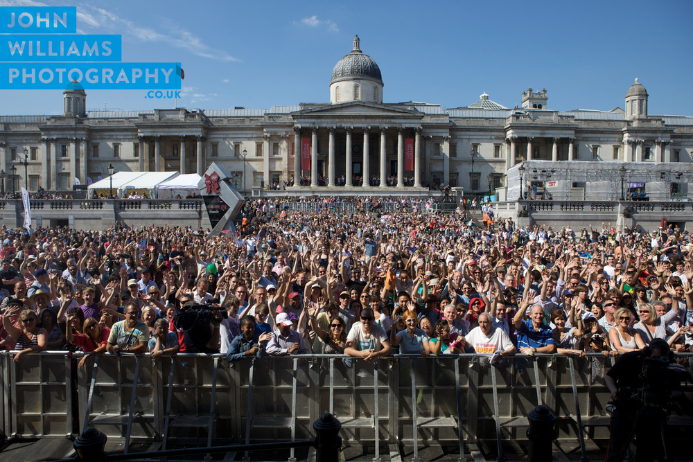 BT River of Music, Trafalgar Square 2012