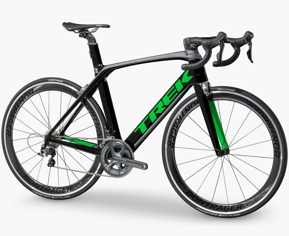 Trek Black/Charcoal/Green-P1