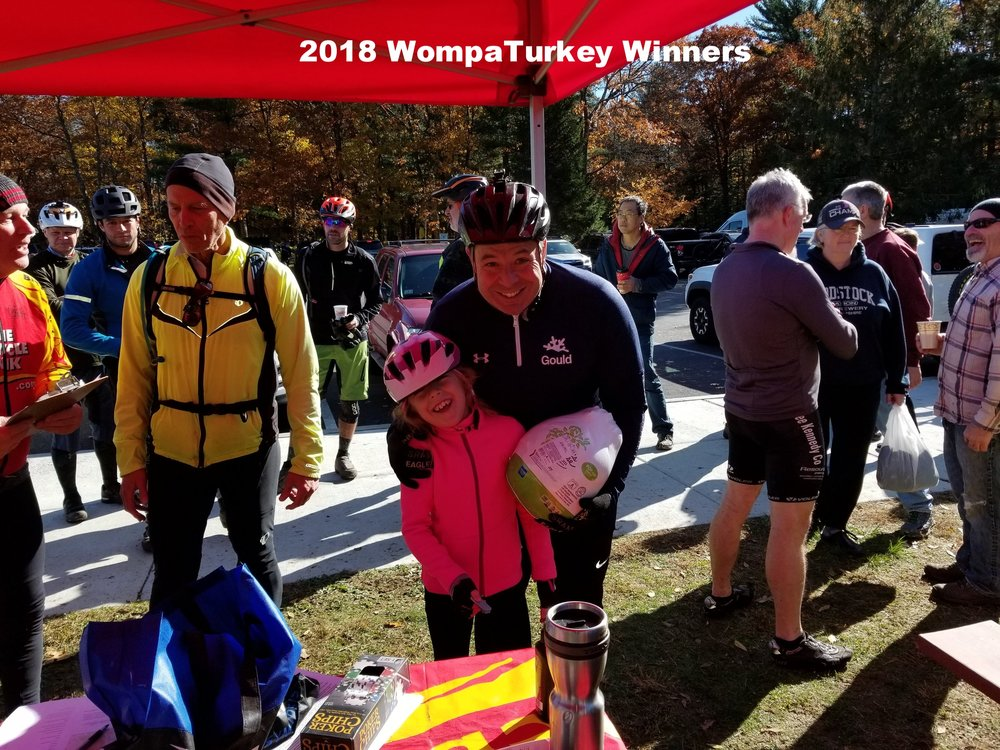 WompaTurkey 2018 Winners