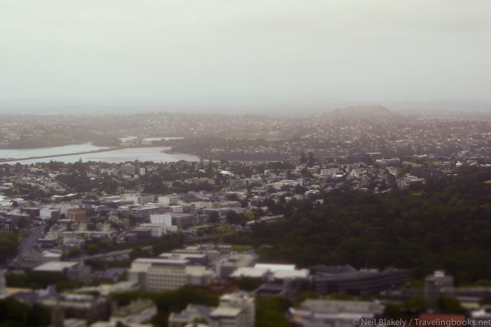Auckland from the Skytower