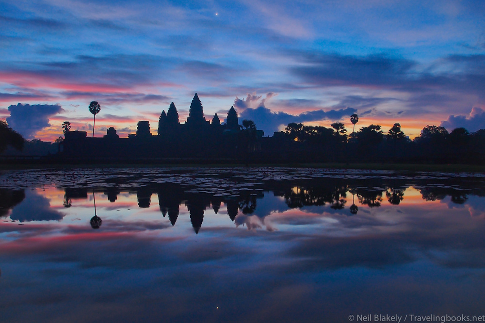via flickr.com Unfortunately this is all I got to see of Angkor Wat :(