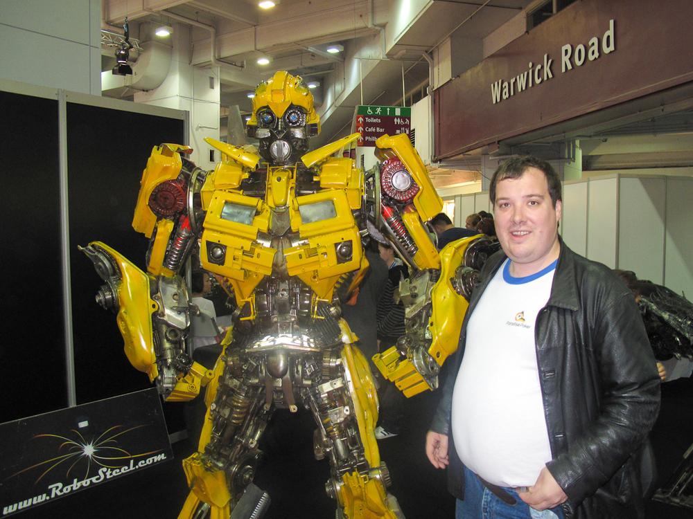 Top Gear and Peter Kay - London, November 2010