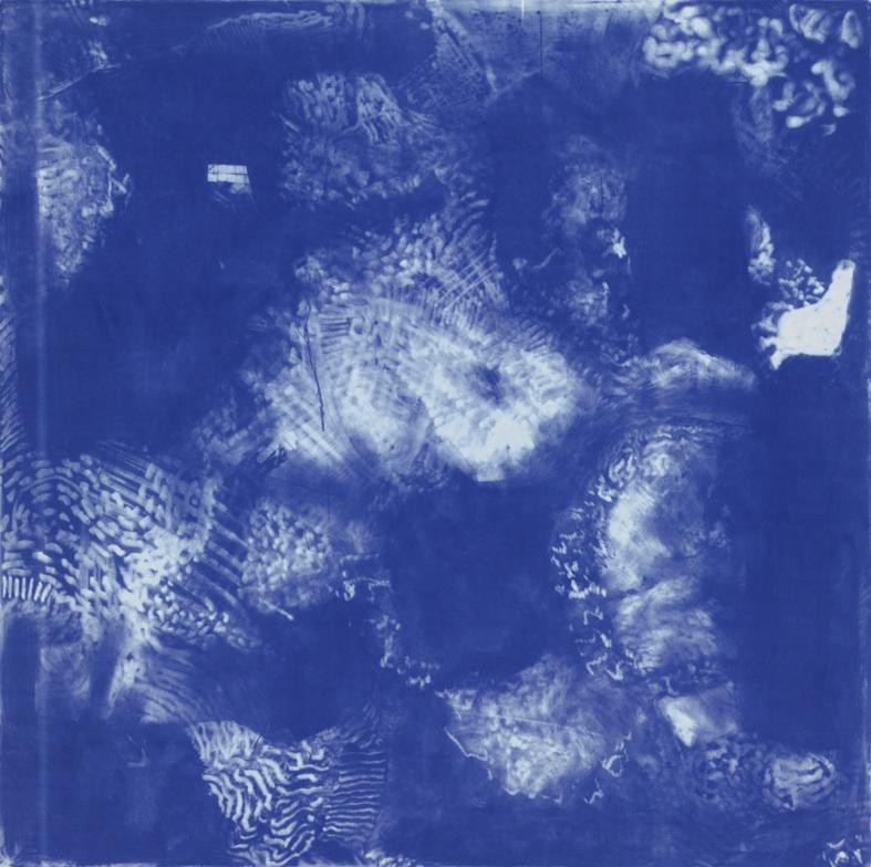 Nubes azules (Blue Clouds), 1991