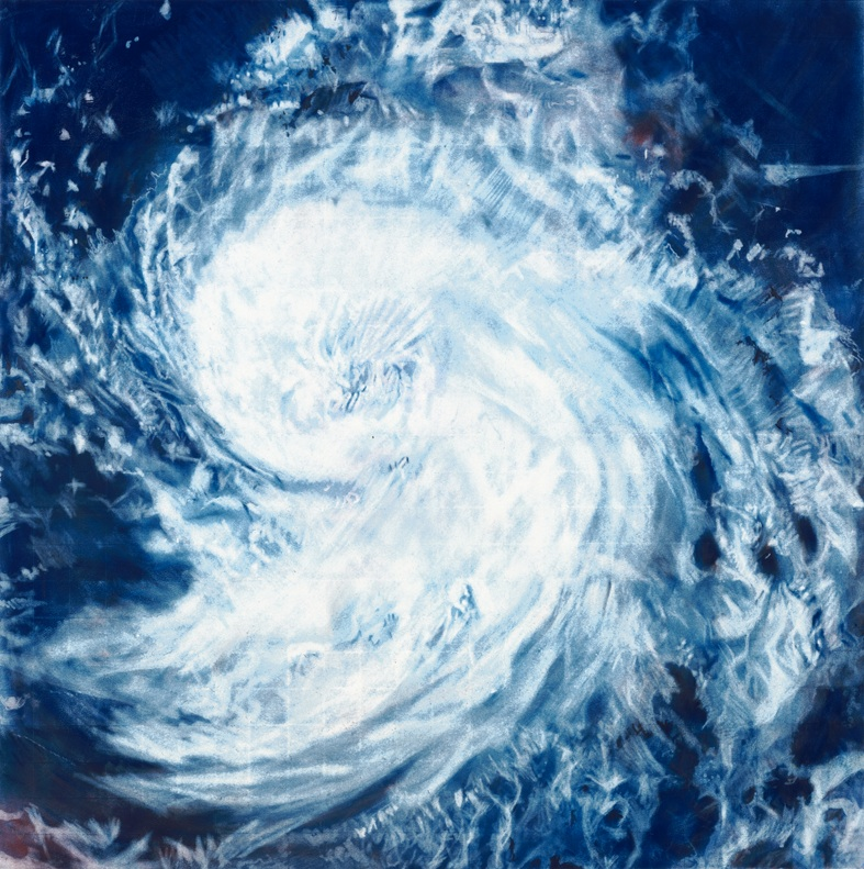 HURACÁN KATRINA AZUL II (HURRICANE KATRINA IN BLUE II), 2008