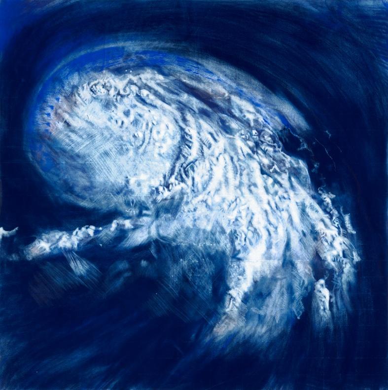 HURACÁN KATRINA AZUL (HURRICANE KATRINA IN BLUE), 2008