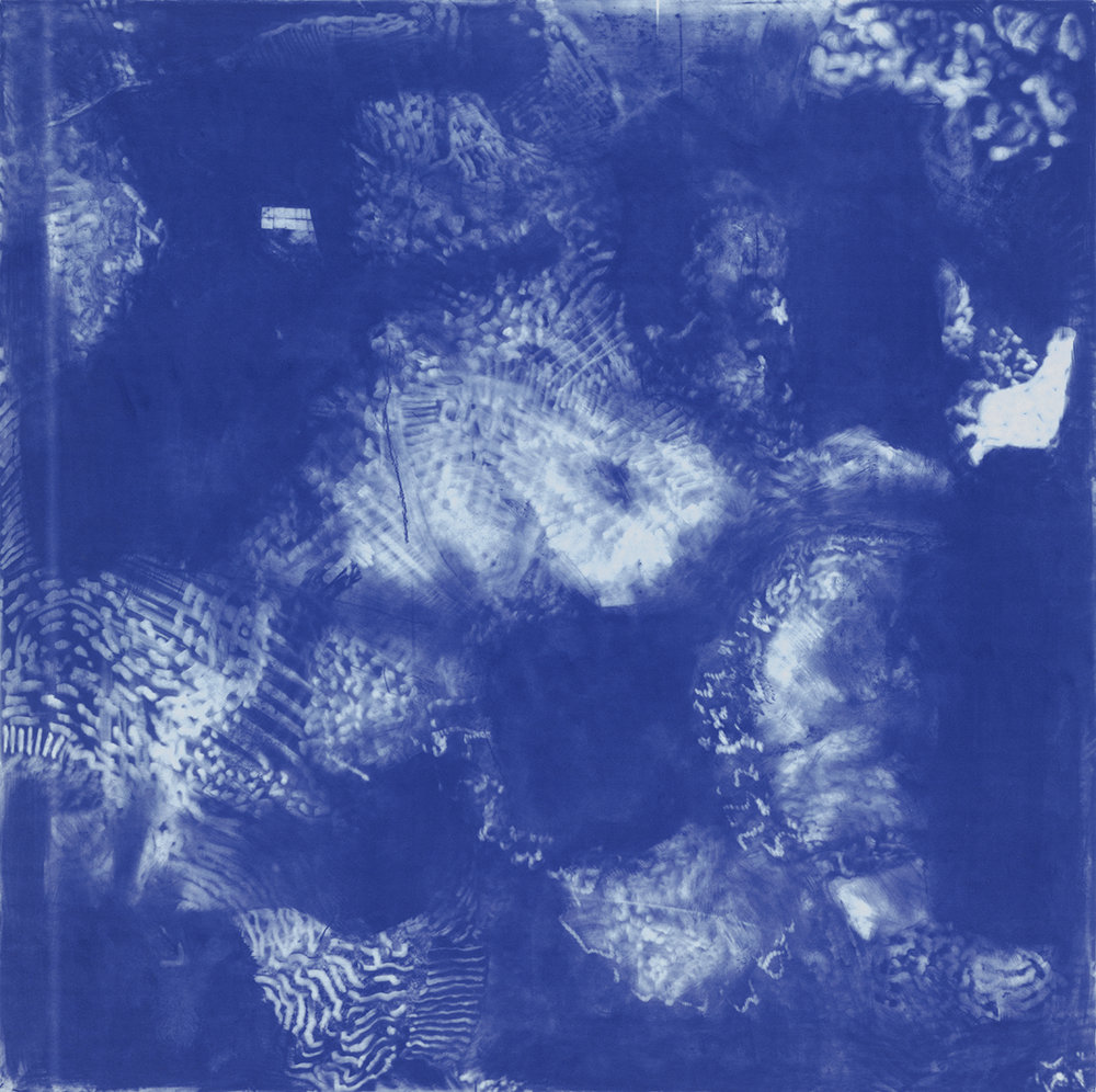 NUBES AZULES (BLUE CLOUDS), 1991
