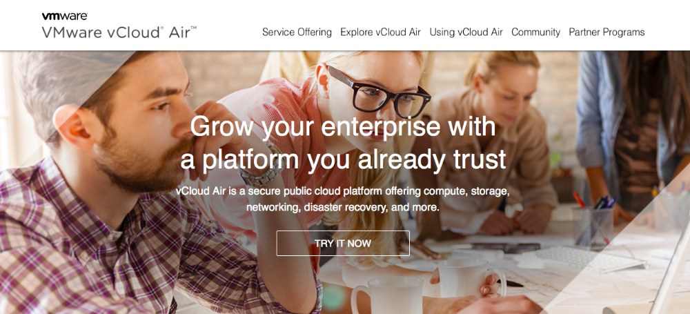 "VMware's vCloud Air: Wrote copy for the ""What is vCloud Air"" page during a time of massive change for the company (part of the biggest tech merger in history)."